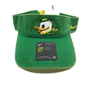 Nike Oregon Ducks Washed Denim Golf Football Visor